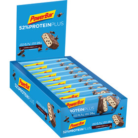PowerBar ProteinPlus 52% Riegel Box Cookies & Cream 20 x 50g